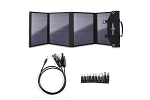 ROCKPALS Foldable 60W Solar Panel Charger for Suaoki