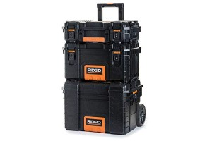 RIDGID Professional Tool Storage Cart And Organizer Stack