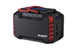 SUAOKI Portable Power Station, 150Wh Camping Generator