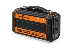 Rockpals 250-Watt Portable Generator Rechargeable Lithium