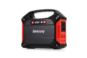 Aeiusny Portable Generator, 155Wh 42000mAh UPS Battery