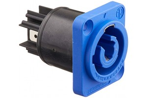 Neutrik NAC3MPA-1 AC Powercon Receipt-In Blue