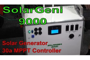 SolarGeni 9000 Watt Portable Solar Generator AC ONLY