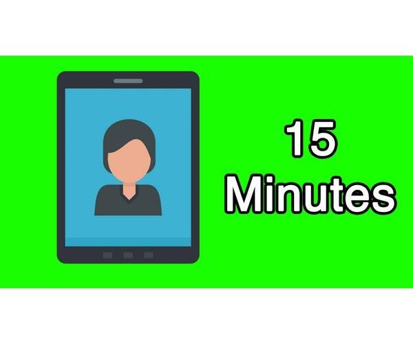 15 Minute Video Consultation