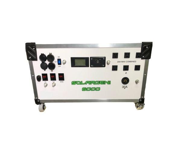 SolarGeni 6000 Watt Portable Solar Generator