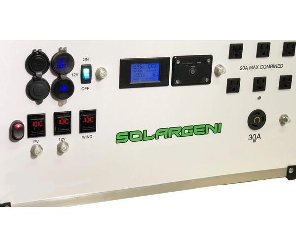 SolarGeni 3000 Watt Portable Solar Generator