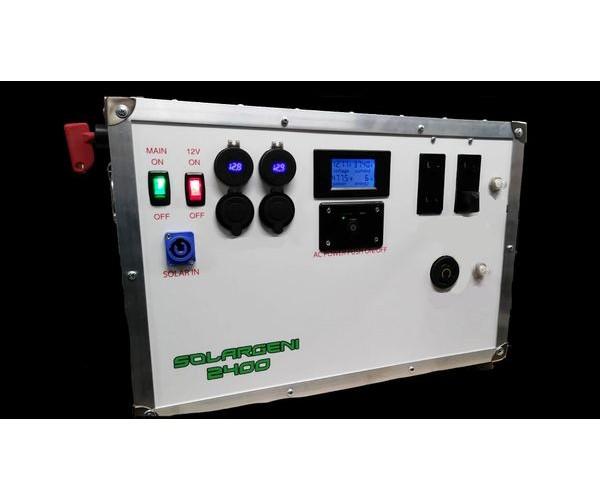 SolarGeni 2400 Watt Portable Solar Generator