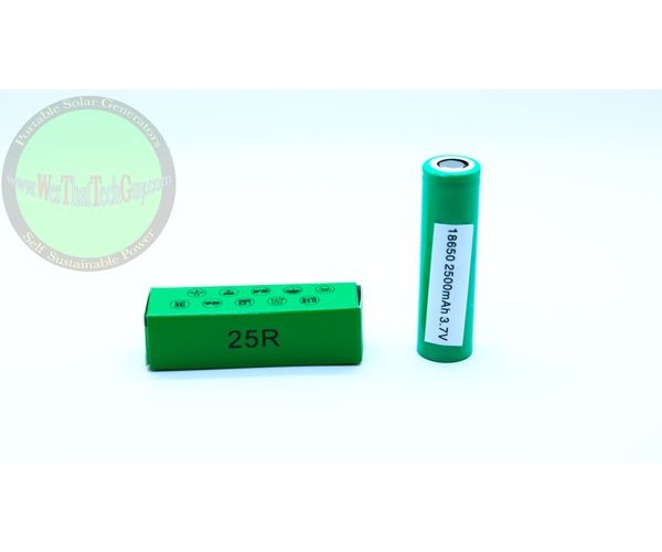 Samsung 25R 18650 10 Pack  Authentic Lithium Battery 10 Pack