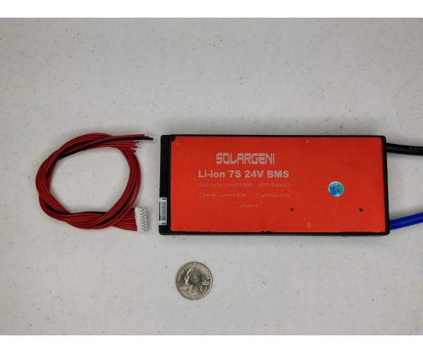 7s 29.4v 80a Lithium Balance BMS