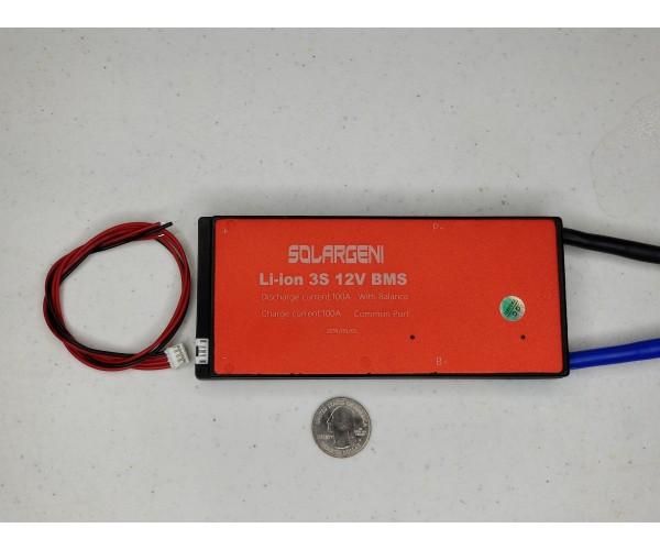 3s 12.6v 100a Lithium Balance BMS