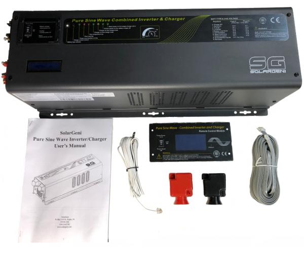 6000 watt Lithium Battery Inverter Charger for Tesla's 50.4v 12s Model S Module 48V Version